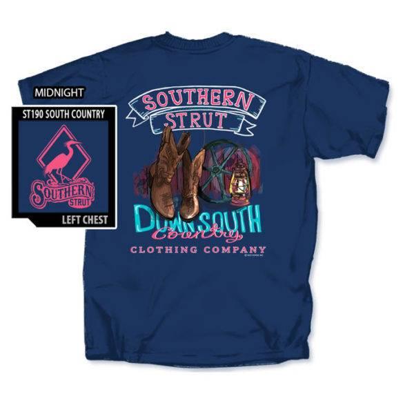 Southern Strut Southern Strut Downsouth Country T-Shirt