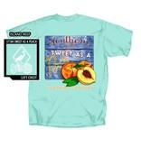 Southern Strut Southern Strut Sweet As A Peach T-shirt