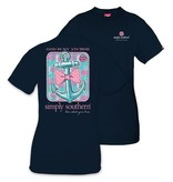 Simply Southern Collection Simply Southern ANCHOR T-Shirt