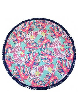 Simply Southern Collection Simply Southern Round Beach Towel
