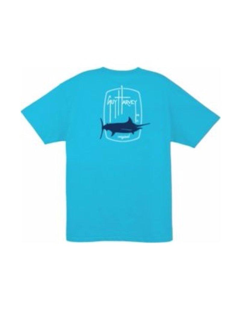 Guy Harvey Guy Harvey Barrel Logo Short Sleeve T-Shirt