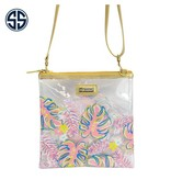Simply Southern Collection Simply Southern Clear Printed Crossbody