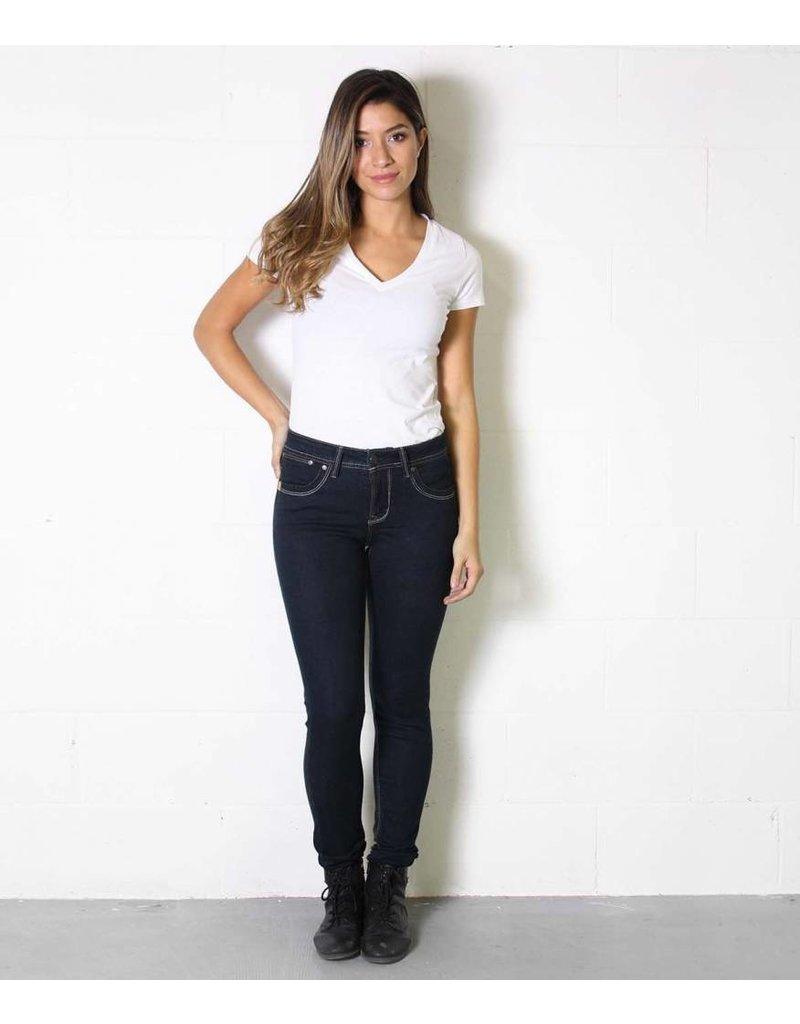 LOLA LOLA Mid Rise Classic Skinny Jean