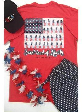 Jadelynn Brooke Jadelynn Brooke Sweet Land of Liberty (Red) - Short Sleeve