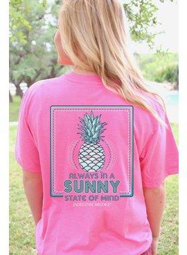 Jadelynn Brooke Sunny State of Mind  -V-Neck- ( Pink)