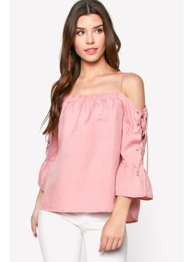 Everly Everly Off Shoulder Top