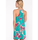 Everly Everly Floral Shift Dress