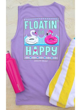 Jadelynn Brooke Floating On Happy - Lavender - Tank
