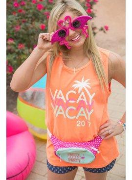 Jadelynn Brooke VACAY VACAY VACAY 2017 (Neon Orange) - Tank