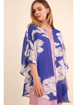 Umgee UMGEE Floral Kimono