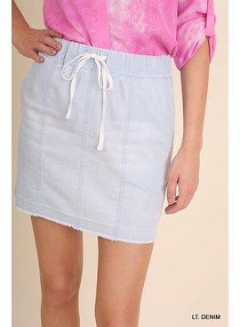 Umgee UMGEE Washed Skirt