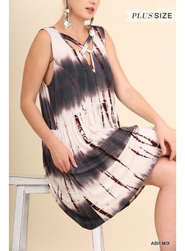 Umgee UMGEE Tie Dye Dress