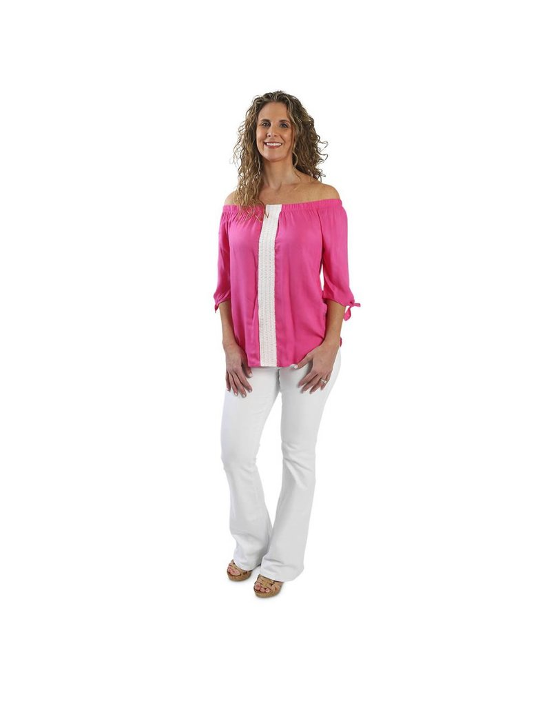 buckhead betties buckhead betties Pink Mason Shirt