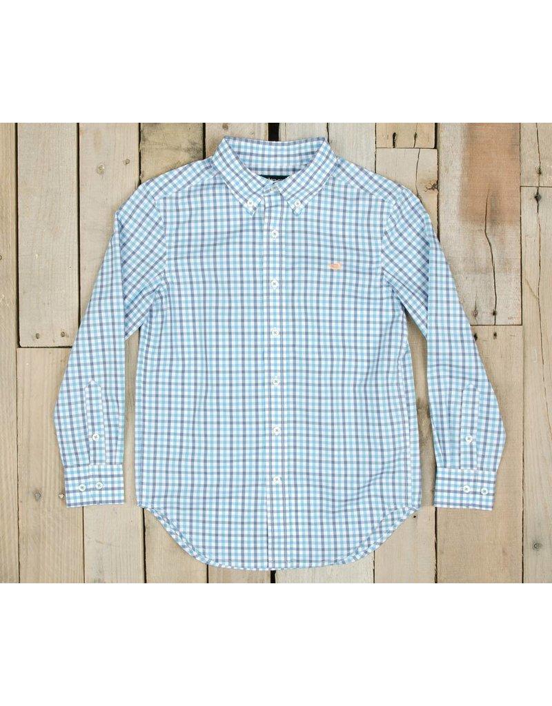Southern Marsh Southern Marsh Evans Gingham Dress Shirt - Youth