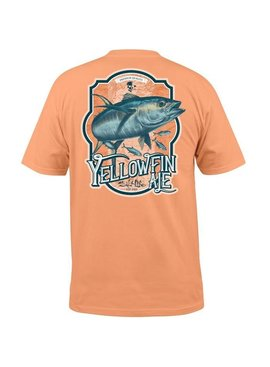 Salt Life Yellowfin Ale Pocket Tee