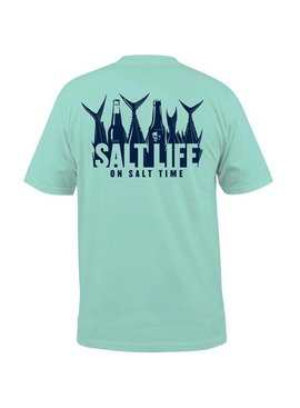 Salt Life 5 O'Clock Somewhere Pocket Tee