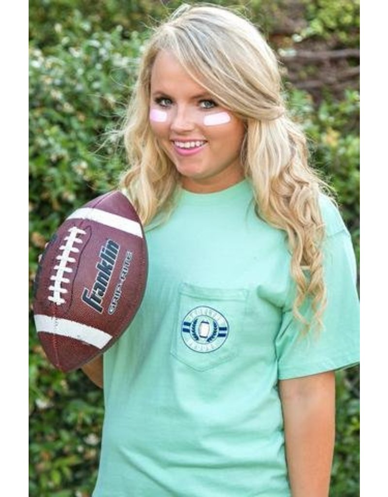 Jadelynn Brooke Friends Who Tailgate Together (Chalky Mint) - Short Sleeve