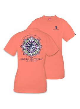 Simply Southern Collection Simply Southern Compass T-shirt