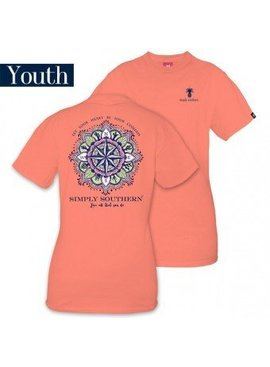Simply Southern Collection Youth Simply Southern Compass T-Shirt