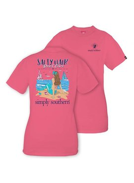 Simply Southern Collection YOUTH Simply Southern Prep Salty T-Shirt