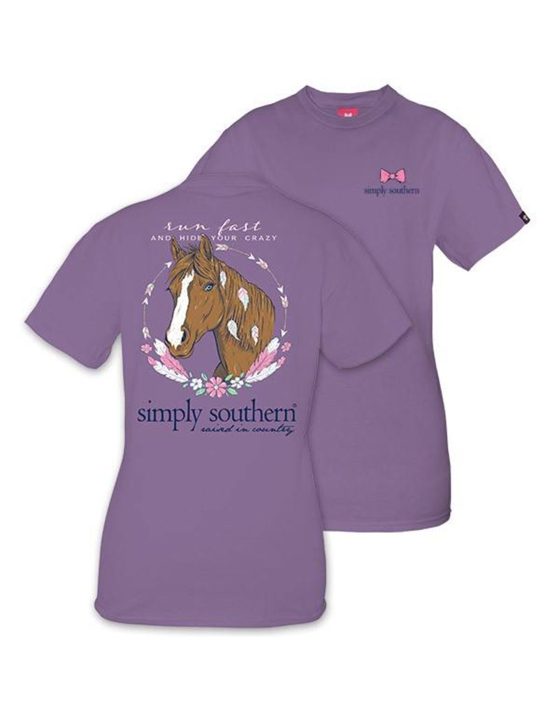 Simply Southern Collection YOUTH Simply Southern Prep Horse T-shirt