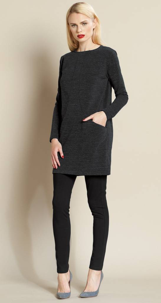 Clara Sun Woo Clara Sun Woo Pima Pocket Sweater Tunic