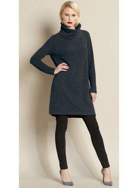 Clara Sun Woo Clara Sun Woo Ribbed Turtleneck Sweater Tunic