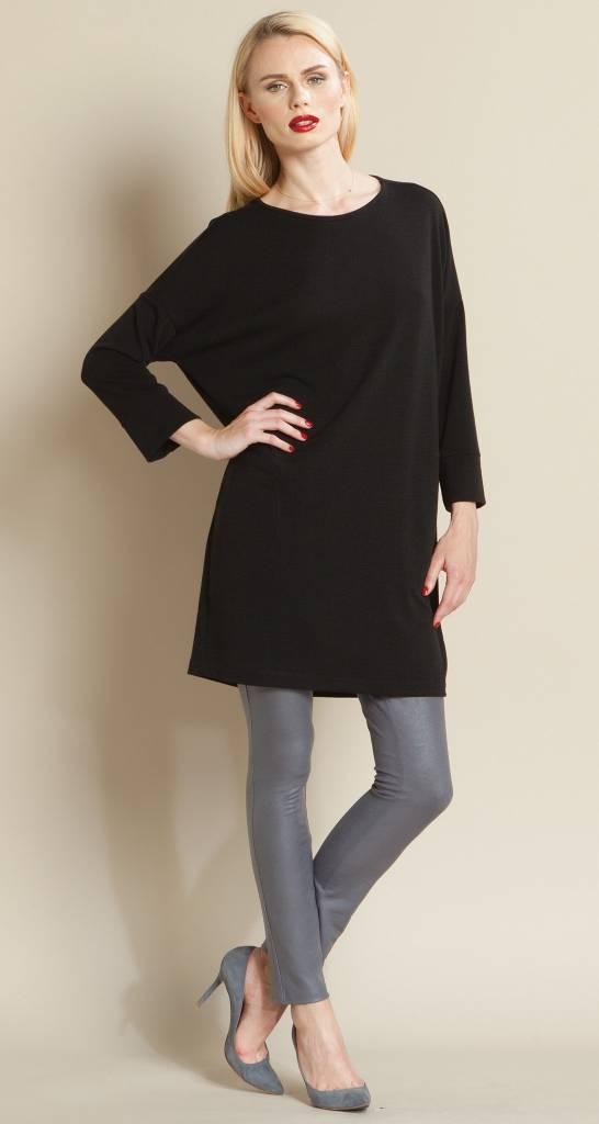 Clara Sun Woo Clara Sun Woo Stitched Pocket Sweater Tunic