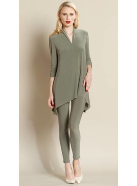 Clara Sun Woo Narrow V Neck Tunic