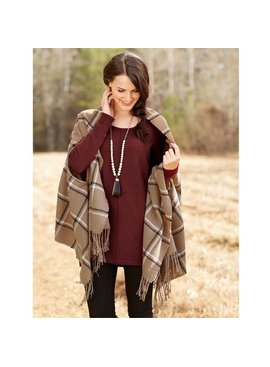 Mud Pie Mud Pie Ava Scarf Wrap