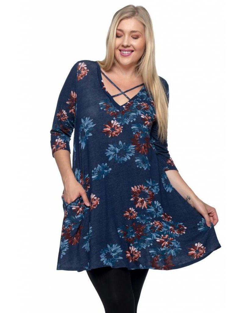 Spin USA Spin Woven Floral Dress