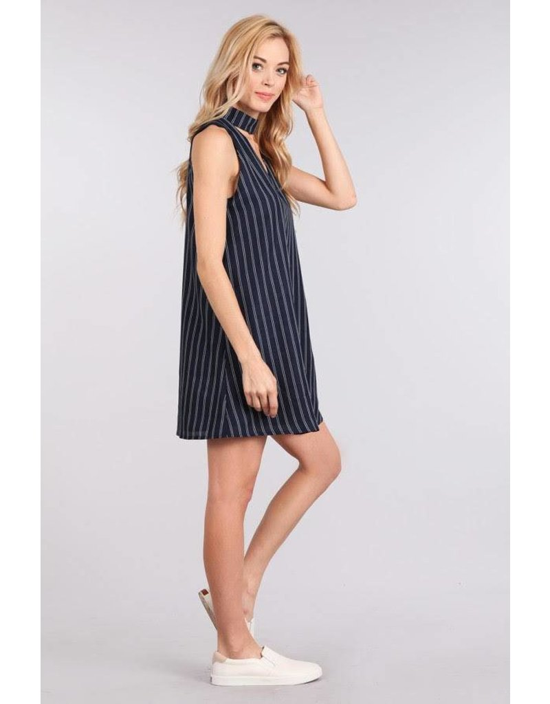 Sweet Wanderer Woven Sleeveless Dress