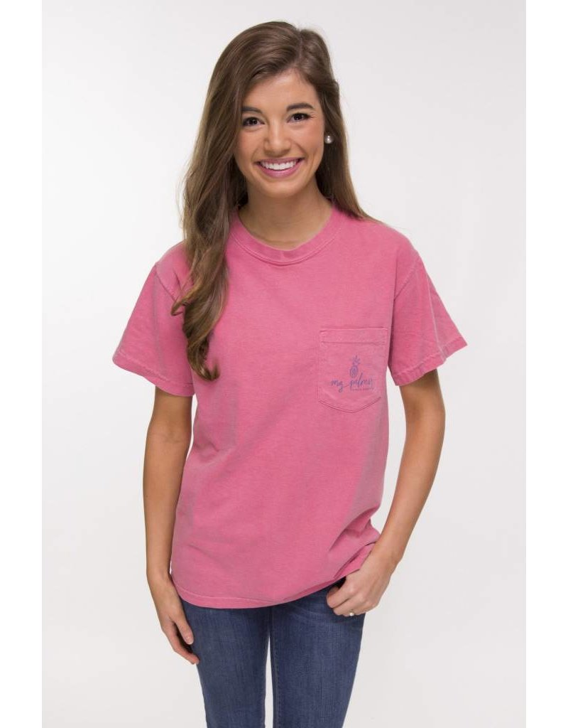 MG Palmer MG Palmer Embrace The Journey Tee - Crunchberry