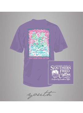 Southern Fried Cotton Youth - SFC The Sea Anchors Me Tee - Violet Sugar