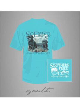 Southern Fried Cotton Youth - SFC Scout and Sadie Tee - Robin's Egg