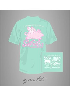 Southern Fried Cotton Youth - SFC When Pigs Fly Tee - Julep