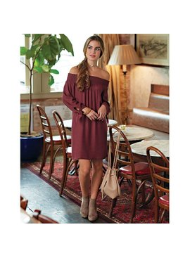 Mud Pie Mud Pie Elle Off-The-Shoulder Dress