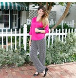 buckhead betties Buckhead Betties echo black foster poly-knit pants