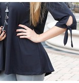 buckhead betties Buckhead Betties black bentley poly-knit top