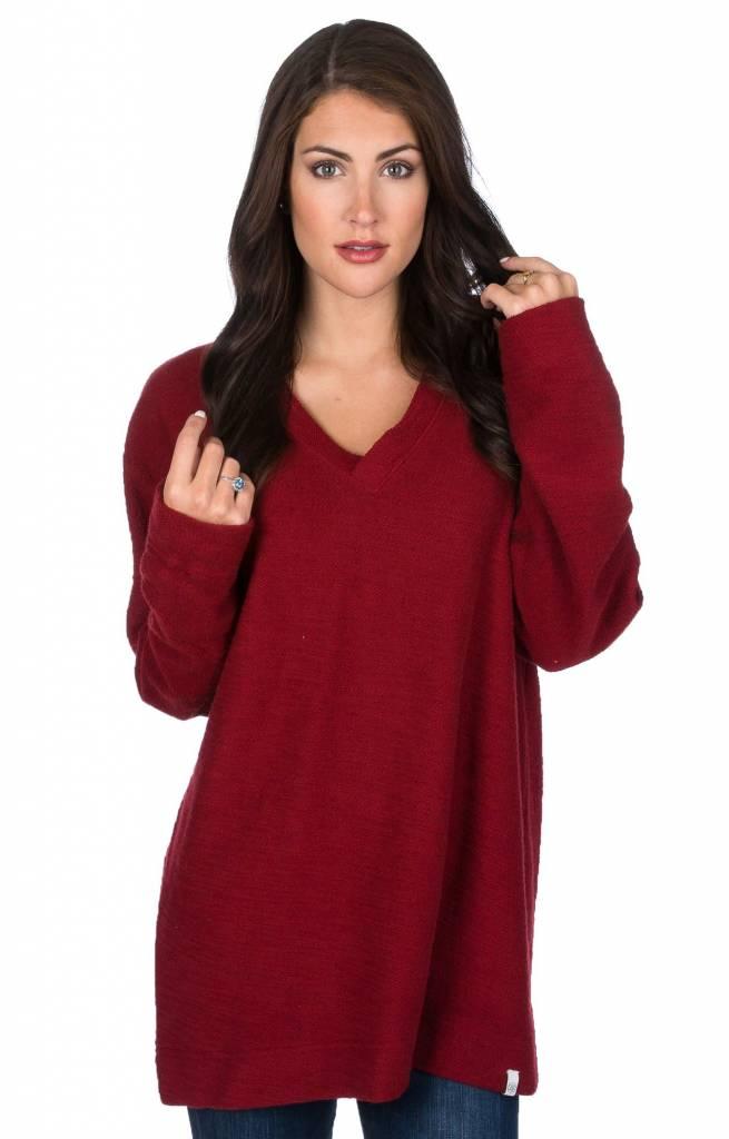Lauren James Lauren James The Shaggy V-Neck Sweatshirt