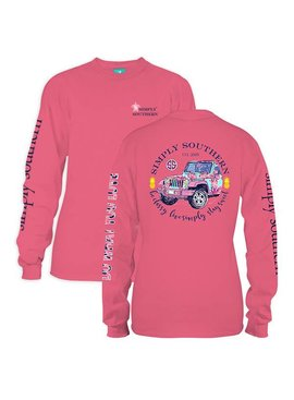 Simply Southern Collection Simply Southern Be Classy Long Sleeve T-Shirt
