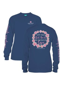 Simply Southern Collection Simply Southern Let All You Do Long Sleeve T-Shirt