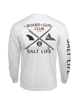 Salt Life Salt Life Boards And Guns Long Sleeve Tee