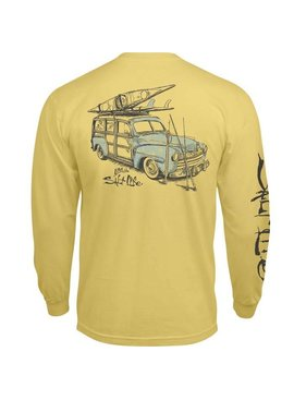 Salt Life Salt Life Destination Salt Long Sleeve Pocket Tee