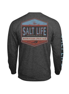 Salt Life Salt Life Beeracuda Long Sleeve Pocket Tee