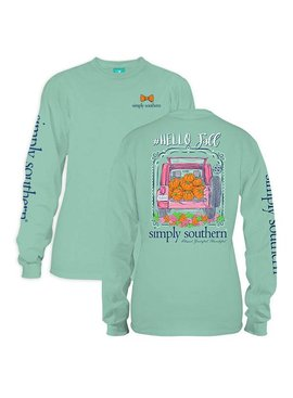 Simply Southern Collection Simply Southern Fall Long Sleeve T-Shirt - Fresh