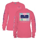 Simply Southern Collection Simply Southern Patchwork Long Sleeve T-Shirt
