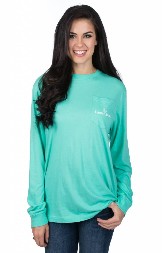 Lauren James LAUREN JAMES Apple Of My Eye Tee L/S