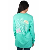 Lauren James LAUREN JAMES Dress Touchdowns Tee L/S