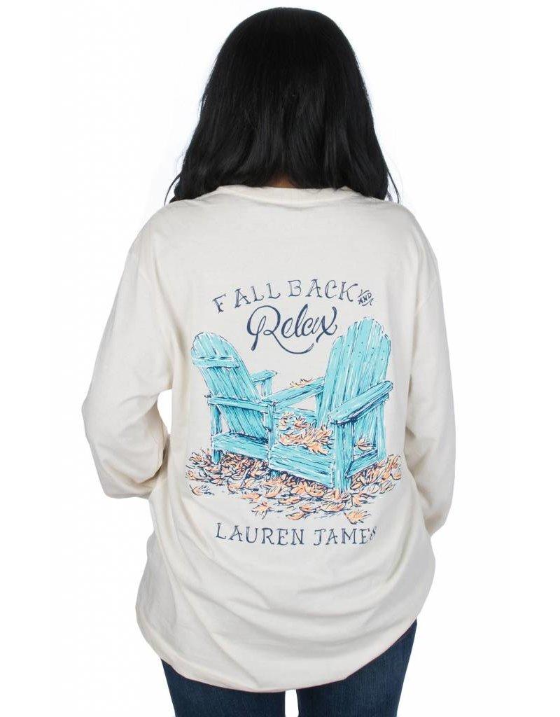 Lauren James LAUREN JAMES Fall Back Tee L/S